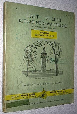 Telephone Directory Kitchener Ontario