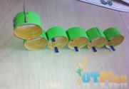 Paper Roll Caterpillar OT activity