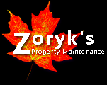 Website for Zoryk's Property Maintenance