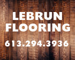 Website for Lebrun Flooring