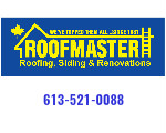 Website for Roofmaster Ottawa Inc.