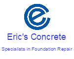 Website for Eric's Concrete & Masonry Services
