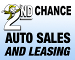 Website for 2nd Chance Auto Sales and Leasing