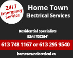 Website for Home Town Electrical Services