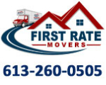 Website for First Rate Movers Inc.