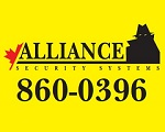Website for Alliance Security Systems of Ottawa