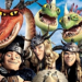 Cropped HTTYD2 poster, showing Snotlout, Hookfang, Tuffnut, Ruffnut, Barf and Belch.