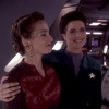 Lenara and Jadzia holding each other