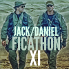 Jack and Daniel in BDUs walking side by side