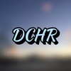 """A photo of blurred scenery with the words """"DCHR"""" over it."""