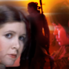 Leia, Rey and Rose from the Star Wars Franchise