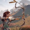 aloy shooting a bow