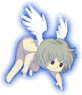 Joshua as a putto edited from his attack animations