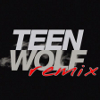 Teen Wolf Remix icon: Text on black background