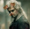 Geralt with the Snapchat dog-face filter.