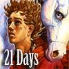 Lavan Firestorm and his wife, a horse