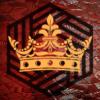 Gold Crown on Dwarven Background