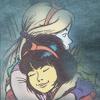 Yoko and Khany hugging