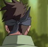 Image of the back of Iruka's head