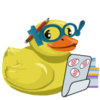 Drabble Night Ducky
