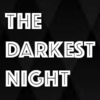 "The text ""The Darkest Night"" on a black diamond-patterned background"