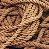 a pile of rope