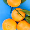 oranges on blue, icon by lordessrenegade