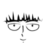 Cartoony Mob Psycho Face