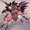 Tomoe Gozen on Horseback