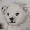 Polarbear cub - painted