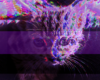 a glitchy kitten