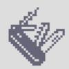 Pixel art wiss army knife.