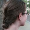 hypatia quarter profile with braid
