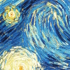 part of van gogh's starry night