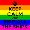Keep calm and ship all the ships!