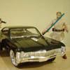 Model Impala and Obi-Wan Kenobi Action figure