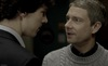 John looking at Sherlock's lips because John Watson is hella bisexual