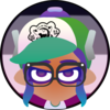 me as a spatoon octoling on the asexual flag