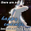 Sonata IX Icon - There are no happy endings because nothing ends.