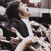 Harry Styles being worshiped