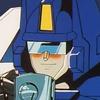 Giant blushing robot drinks giant robot tea (seriously)