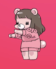 the bear's from a music video by koresawa (コレサワ)and pls she's so cute watch her videos