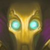 A picture of Full Machine Viktor's face, staring directly at the viewer.