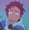 Lance McClain looking windswept with a tear in his eye