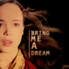 Ariadne from Inception text reads Bring Me A Dream