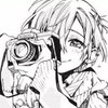 Mitsuba Sousuke from Toilet Bound Hanako-kun smiles lovingly as he takes a picture of something important to him