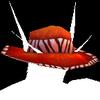 Stylin' Crimson Hat. Because style matters.