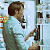 Hannibal opening fridge