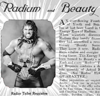 Adam Bomb: Poster Boy for Radior Health and Beauty Tonic