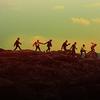 bts on the cliffs